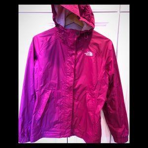 North Face Dark Rose Size M Rain Jacket